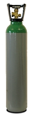 CO2/Argon Gas Cylinder, 9L